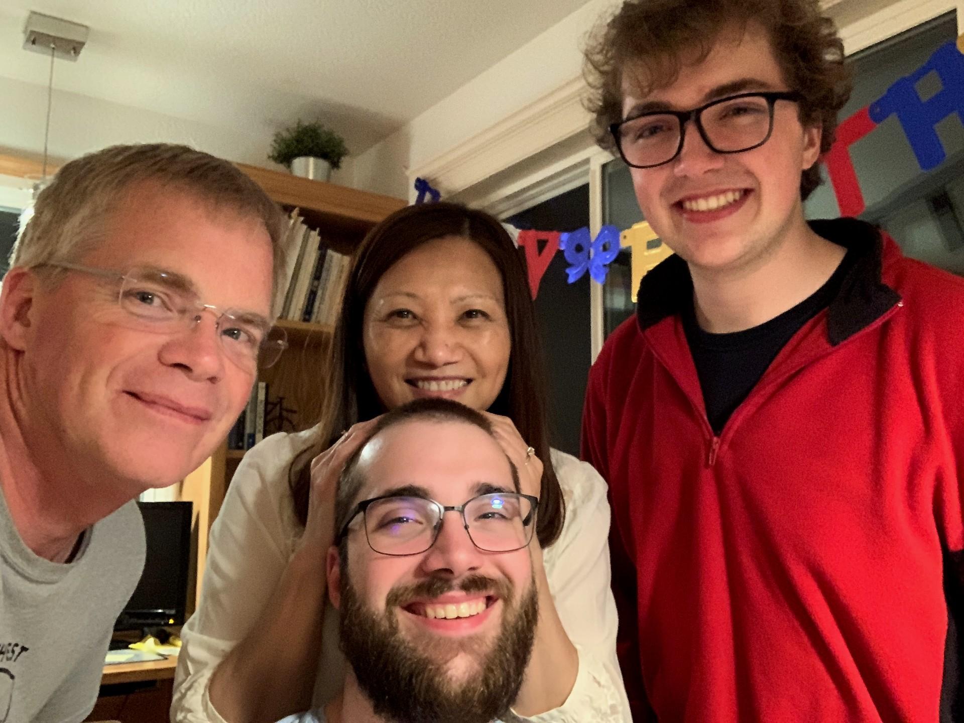 Nicholas Matz Family Photo
