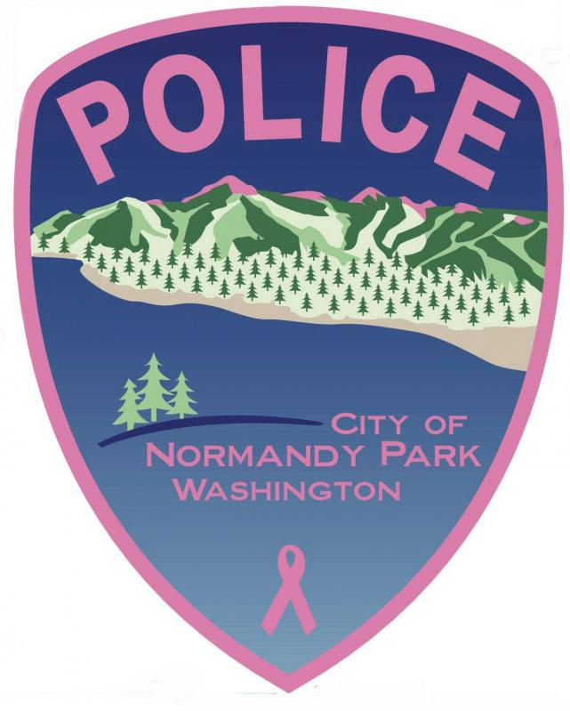 Police Pink Patch