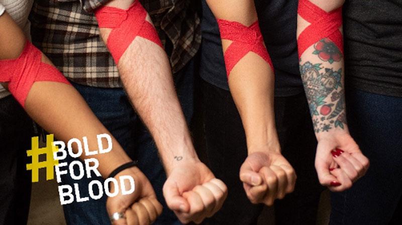Bloodworks Pop-up Donation Center