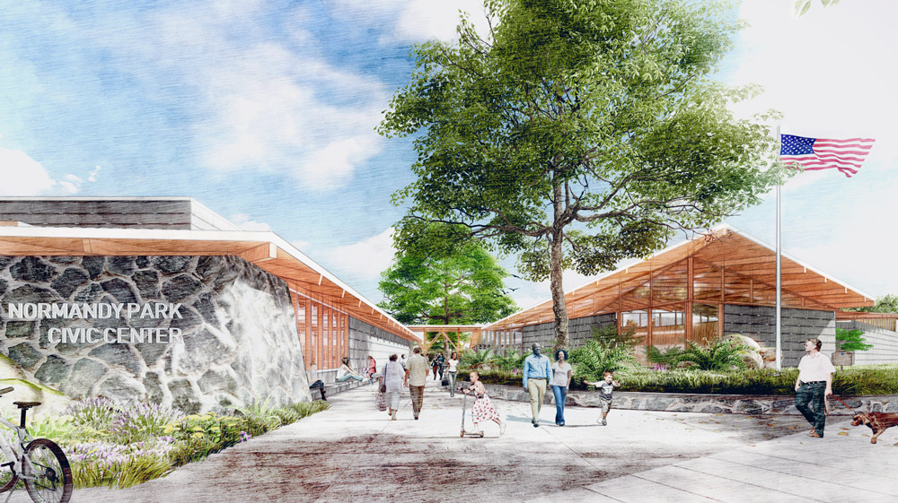Normandy Park Civic Center Design 2020